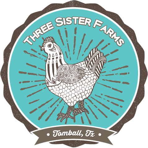 This is the logo for 3 sister farms