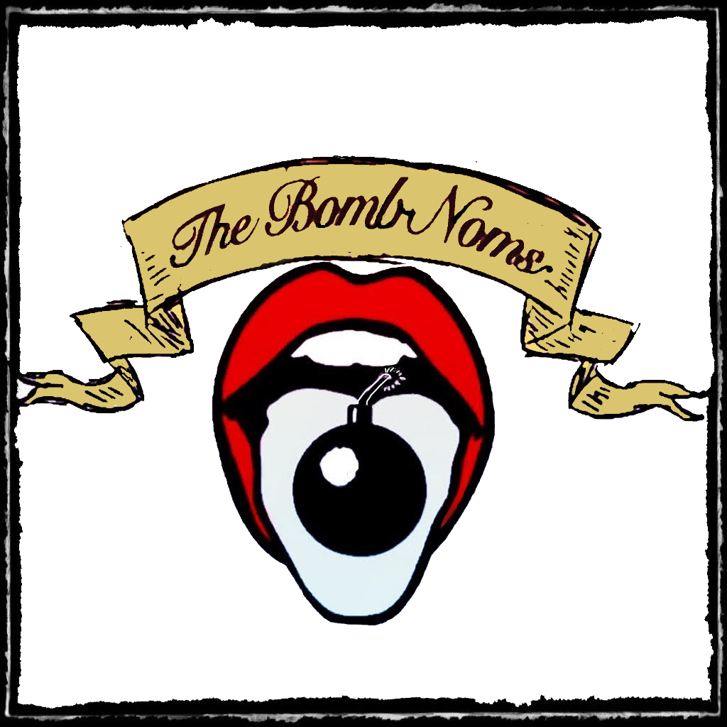 This is the logo for the Bomb Noms