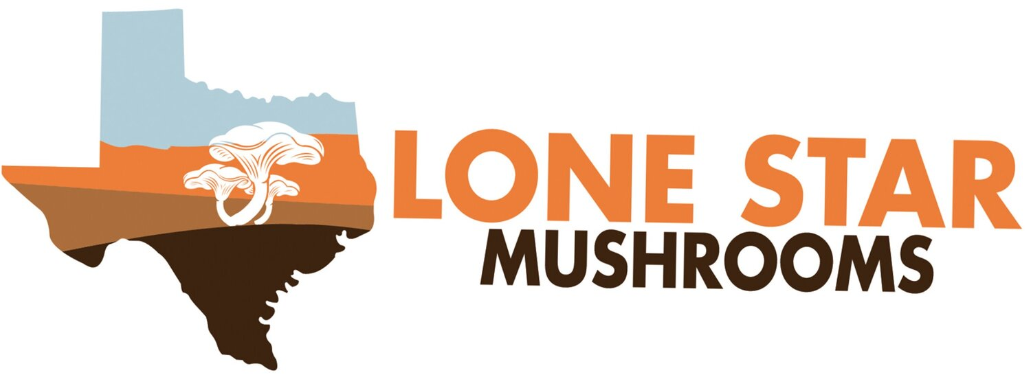 This is the Lone Star Mushrooms logo